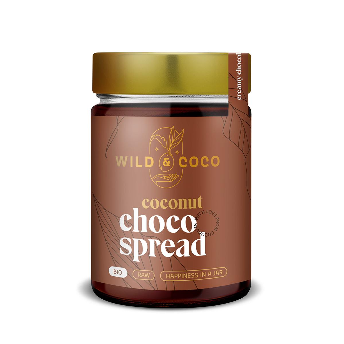 Levně Kokosová pomazánka čokoládová BIO