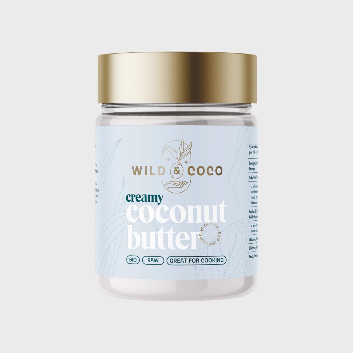 Kokosové máslo raw