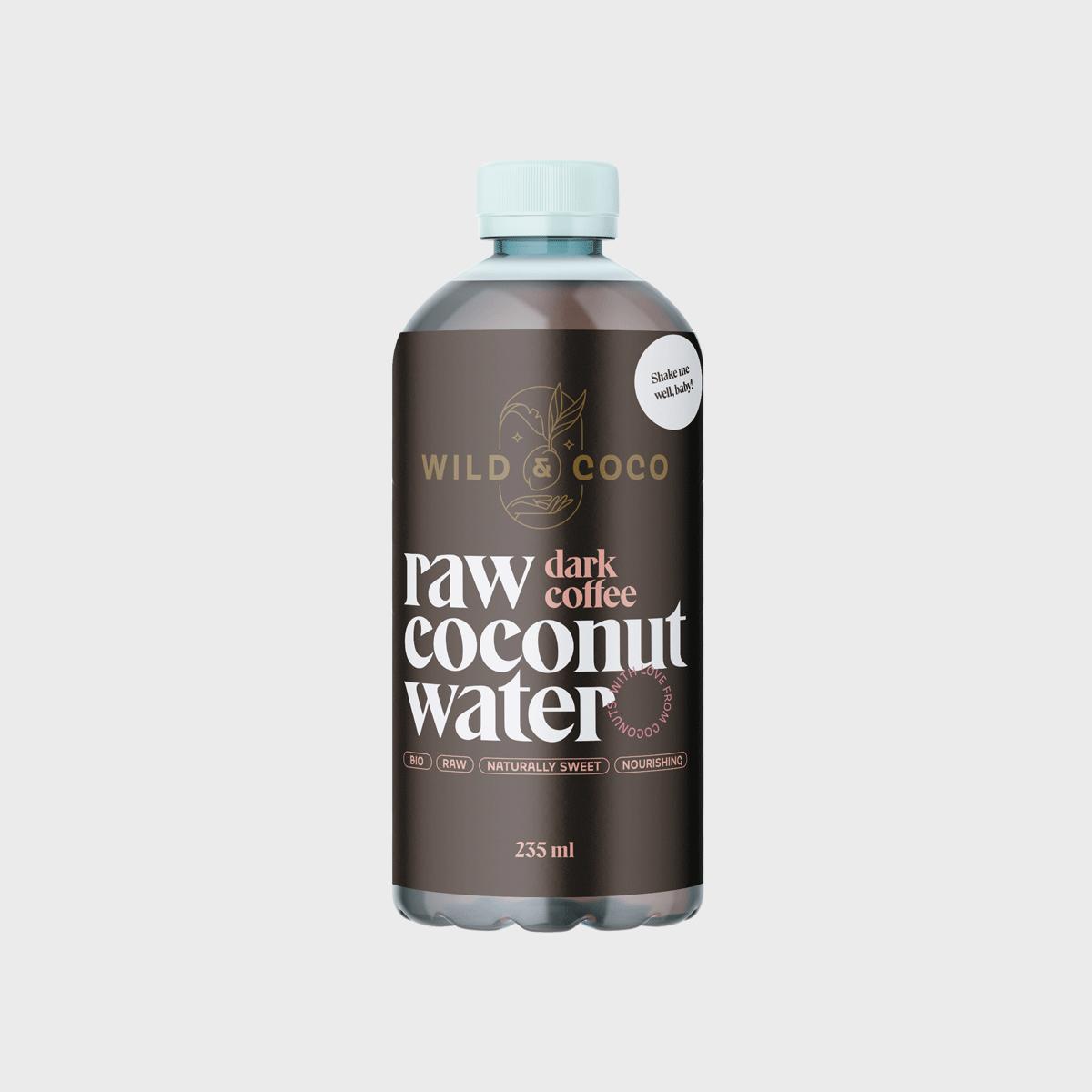 Levně Kokosová voda s cold brew kávou BIO