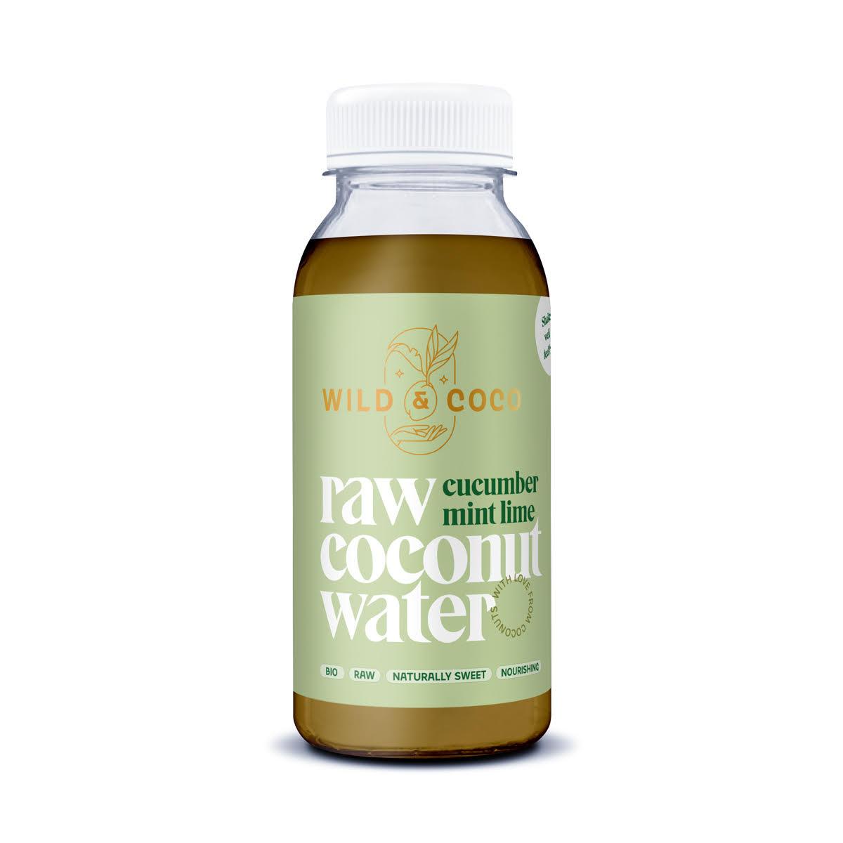 Levně Kokosová voda Cucumber mint lime BIO