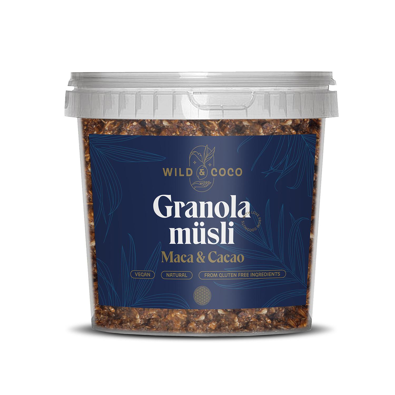 Levně Granola Maca & Cacao (kyblík)