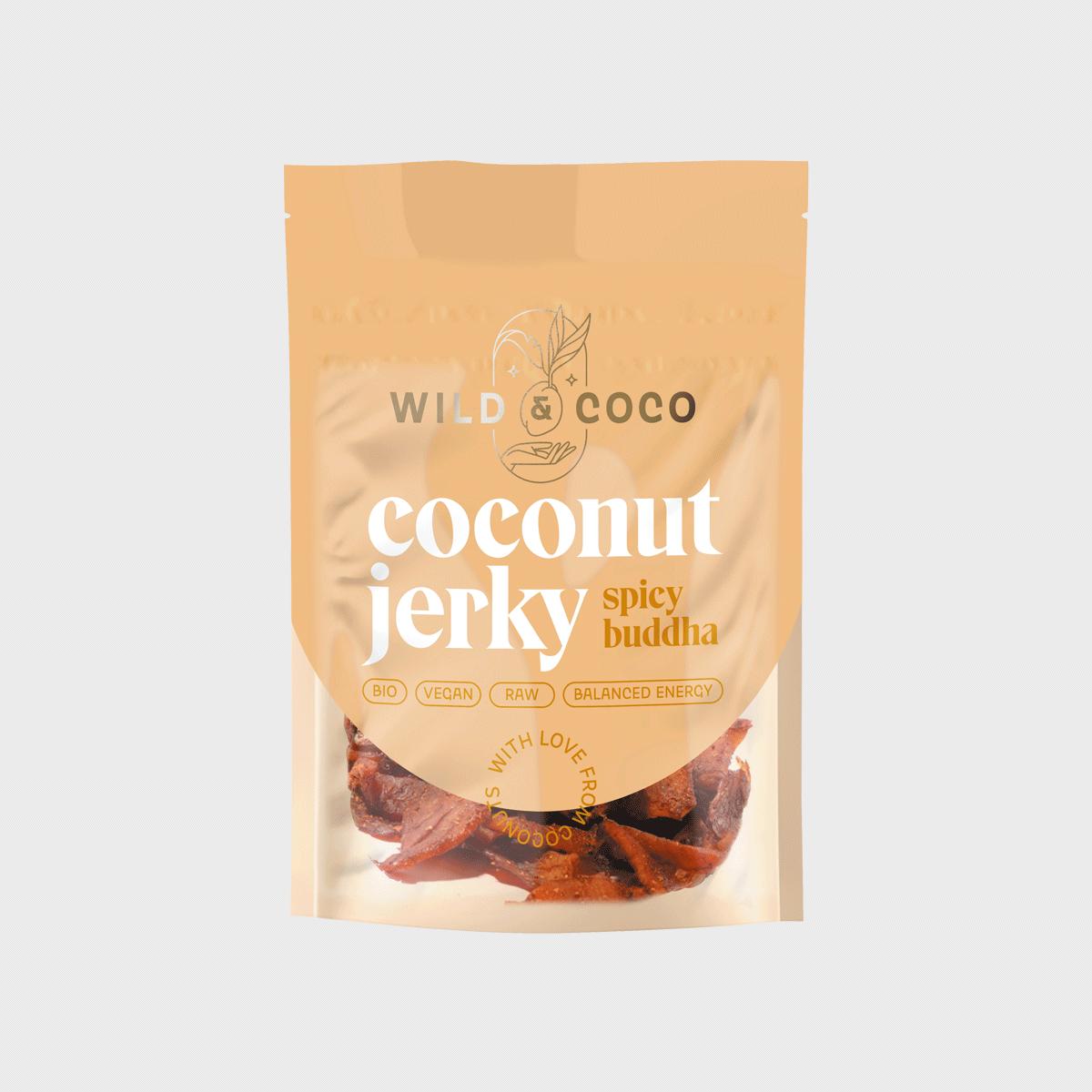 Levně Kokosové jerky buddha