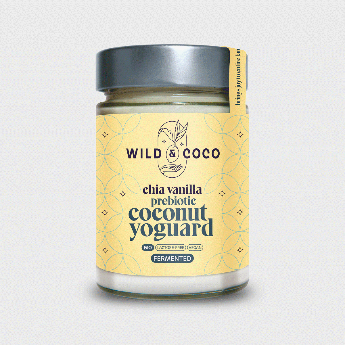 Levně Yoguard Prebiotic Chia Vanilla