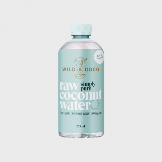 Raw coconut water COLD-PRESSED