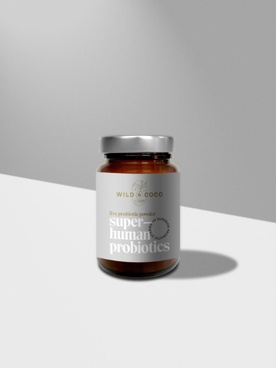 Levně Probiotika Superhuman 30 kapslí
